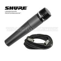 Mic / Microphone / MiK Instrument Kabel SM57 SHURE + Koper