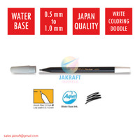 Spidol Kecil Warna (Hitam) SNOWMAN PW-1A Marker Artline Standard