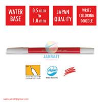 Spidol Kecil Warna (Merah) SNOWMAN PW-1A Marker Artline Standard