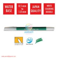 Spidol Kecil Warna (Hijau) SNOWMAN PW-1A Marker Artline Standard