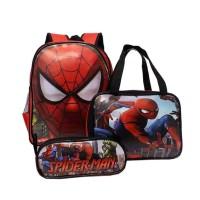 Tas Ransel Spiderman 3in1 Anak laki laki / TGB 8393