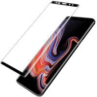 Tempered Glass Full Screen 3D Arc Black Thin HP Samsung Galaxy Note 9