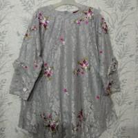tunik brukat modern import mix bordiran Jumbo baju kebaya bigsize