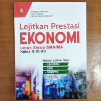 Buku Lejitkan Prestasi Ekonomi untuk SMA Kelas X - XI - XII