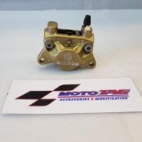 Kaliper Brembo 2 Piston 1 Pin ORIGINAL Gold