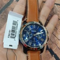 jam tangan FOSSIL baterai,100% ori FS5151, strap leather,