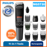 PHILIPS MG5730 MULTIGROOM 11-IN-1 FACE, HAIR, BODY ALAT CUKUR.