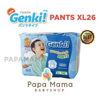 Harga nepia genki pants xl26 xl 26 perekat diaper popok bayi baby | Pembandingharga.com