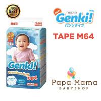 Harga nepia genki tape m64 m 64 perekat diaper popok bayi baby daya | Pembandingharga.com