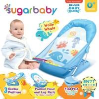 Sugar Baby Deluxe Baby Bather Ranjang Mandi Bayi Biru Pink Hijau