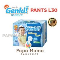 Harga nepia genki pants l30 l 30 perekat diaper popok bayi baby popok | Pembandingharga.com