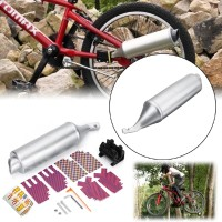 Aksesoris Sepeda BMX Bentuk Knalpot Exhaust Motor dengan Efek
