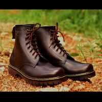 Sepatu Boots Wanita Pria Kulit Bandung Branded Terlaris Paling Murah