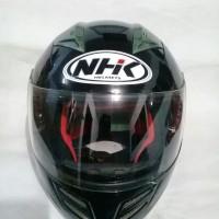 Helm Full Face NHK Predator Double Prisor