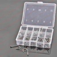 Paket Mata Kail Pancing Hooks Set 10 Ukuran Termasuk Case Kotak Box