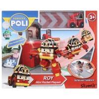 ROBOCAR POLI - MINI POCKET PLAYSET ROY - ORIGINAL