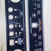 Panel power 2u csh 1400 plat amplifier csh1400