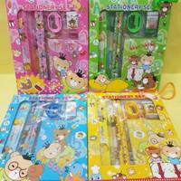 Paket alat tulis set/stationery set memo/souvenir ulang tahun anak