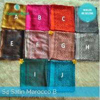 jilbab segi empat saten maroco B harga grosir murah supplier