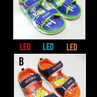 Sepatu sandal anak laki laki WIND LED