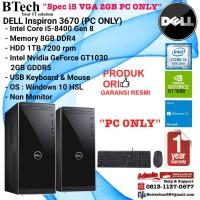 DELL Inspiron 3670 Intel Core i5-8400/8GB/1TB/VGA/Win10HSL PC ONLY