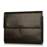 "Knomo KNOMAD MINI LEATHER BLACK (8"" Leather Portable Organiser)"