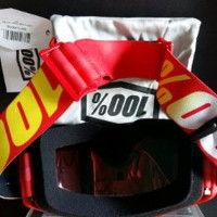 Kacamata Motor Cross - Goggle 100 percent The Strata Furna Byotw754