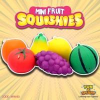 SQUISHY REPLIKA MINI FRUITS SQUISHY BUAH (MIN-80)