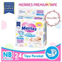 Harga promo murah merries premium tape nb24 nb 24 newborn new | antitipu.com