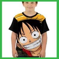 Kaos Anak One Piece Full Print 11 AK-GND20 Laki Perempuan