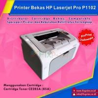 New Printer Bekas HP Laserjet P1102