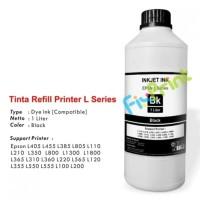 New Tinta Refill Printer Epson L Series Black L110 L210 L350 L800