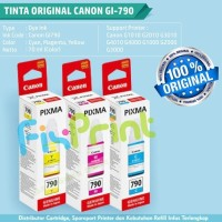 New Tinta Canon GI 790 GI-790 GI790 Refill Printer G1000 G2000 G3000