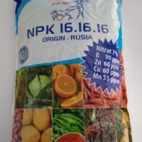 Pupuk NPK 16 16 16 Rusia 1KG