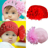 Topi kupluk topi rajut baby girl anak perempuan  baby girl kado baby 37710ddc00