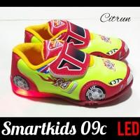 Sepatu anak laki laki LED MOBIL SMARTKIDS 09C