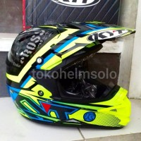 Helm KYT CrossOver Step Up Yellow Trail Cross Over