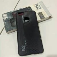 Shining case Carbon by K2 untuk hp Vivo V7 Plus