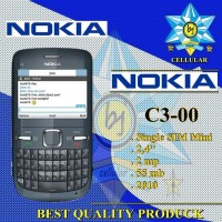 NOKIA C3 -00 Single Sim HP Handphone Nokia C3 Qwerty Nokia 2010