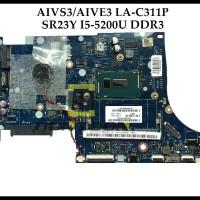 AIVS3/AIVE3 LA-C311P Lenovo E31-70 Laptop Motherboard SR23Y I5-5200U D