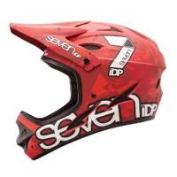 Seven Helmet M1 MATT RED CAMO WHITE Byotw1494