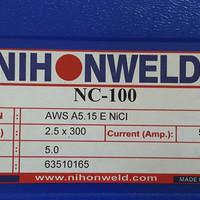 Kawat Las Ancuran/Cast Iron Nihonweld NC 100 AWS ENi-CI Dia 2.5mm