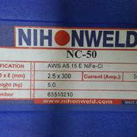 Nihonweld Cast Iron/Ancuran NC50 AWS ENiFe-Cl Dia 2.5mm