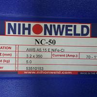 Kawat Las Ancuran/Cast Iron Nihonweld NC50 AWS ENiFe-Cl Dia 3.2mm