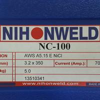 Kawat Las Ancuran/Cast Iron Nihonweld NC 100 AWS ENi-Cl Dia 3.2mm