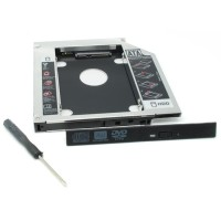 New Terbaru Second Hdd / Ssd Caddy Sata Iii Tebal 12.7Mm