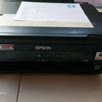 Printer Epson L210 Normal Print Scan Copy