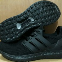 f6c5ee1c6 Adidas Ultra Boost 4.0 Triple Black Premium Quality Diskon
