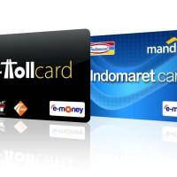 Custom Kartu E-Money Mandiri E-toll Emoney Etoll Design bebas (1 SISI)