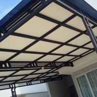 Kanopi Minimalis Atap Solite Polycarbonate | Harga Murah